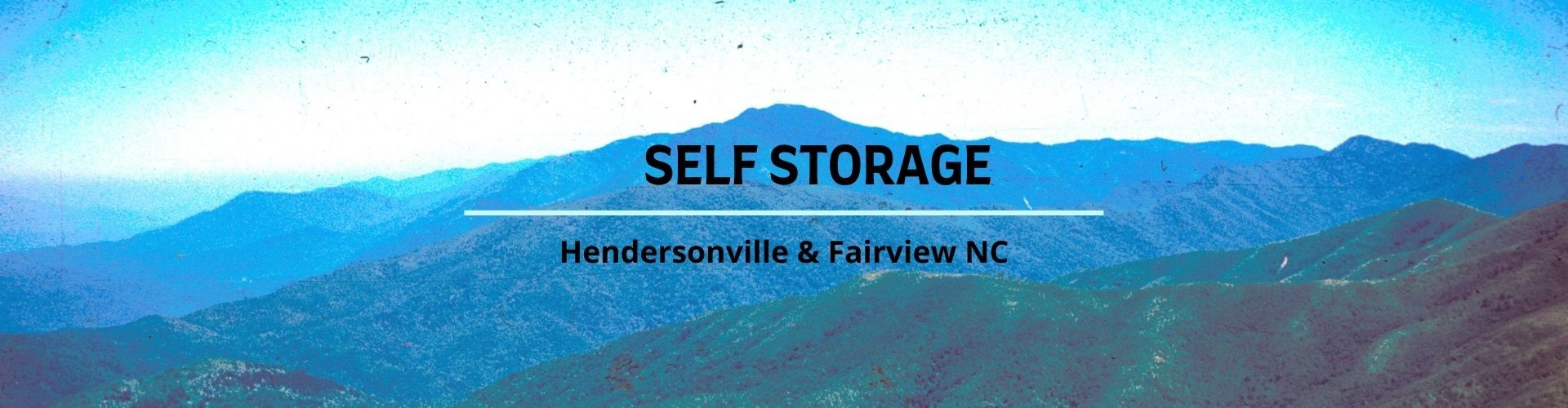 Storage Near Asheville NC